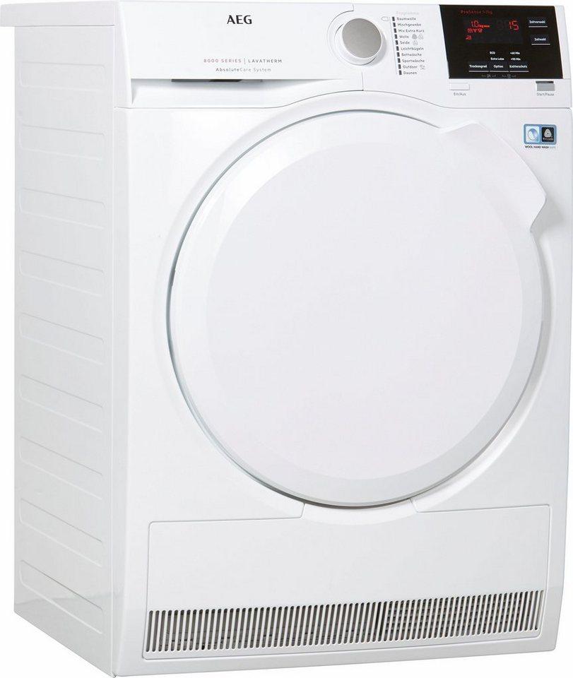 AEG Trockner Lavatherm T8DB60570, A++, 7 kg in weiß