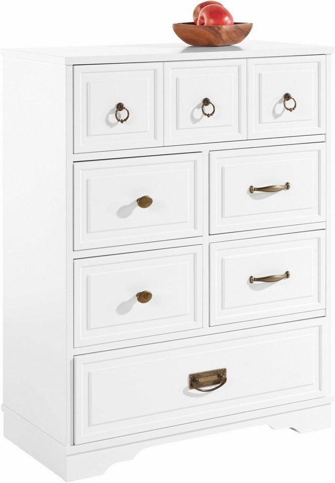 Home affaire kommode breite 70 cm online kaufen otto for Kommode 70 x 100