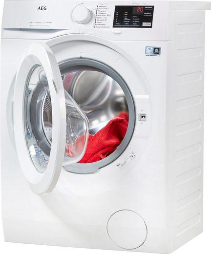 AEG Waschmaschine LAVAMAT L6FB54670, 7 kg, 1600 U/min, ProSense - Mengenautomatik