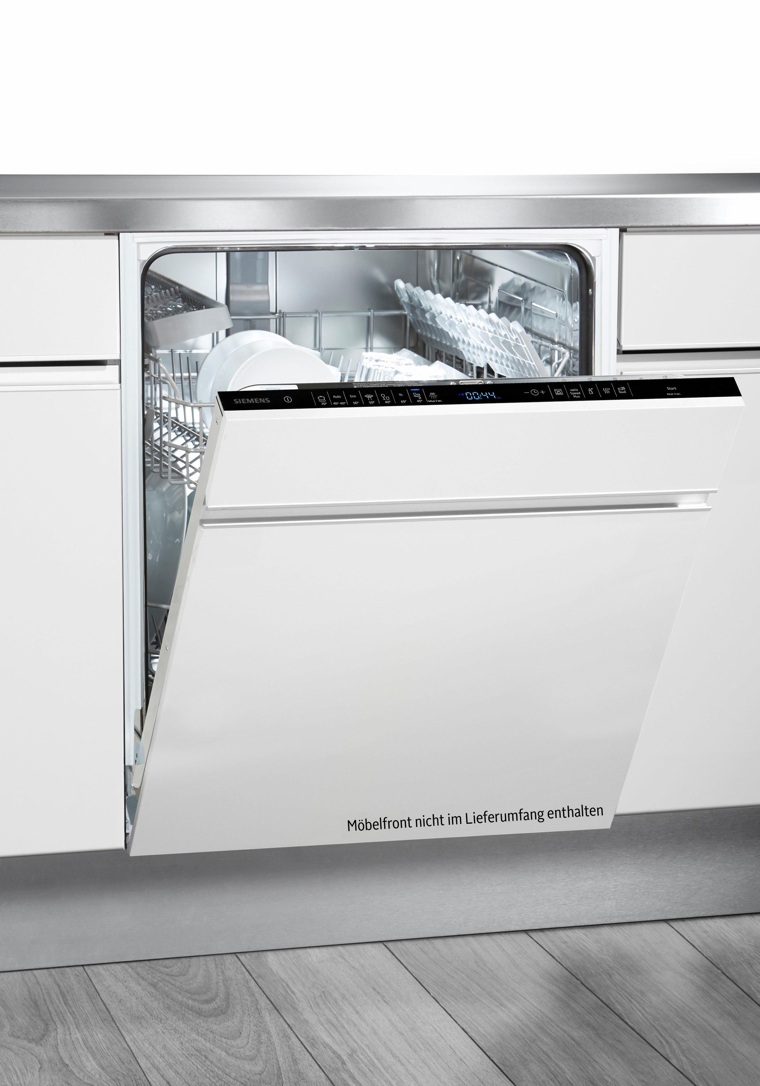SIEMENS vollintegrierbarer Geschirrspüler iQ500, iQ500 SN658X00IE, 9,5 l, 13 Maßgedecke