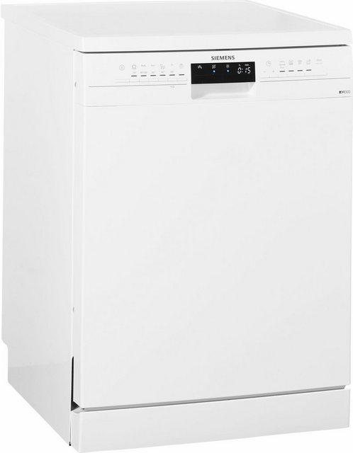 Küchengroßgeräte - SIEMENS Standgeschirrspüler iQ300, SN236W01KE, 9,5 l, 13 Maßgedecke  - Onlineshop OTTO