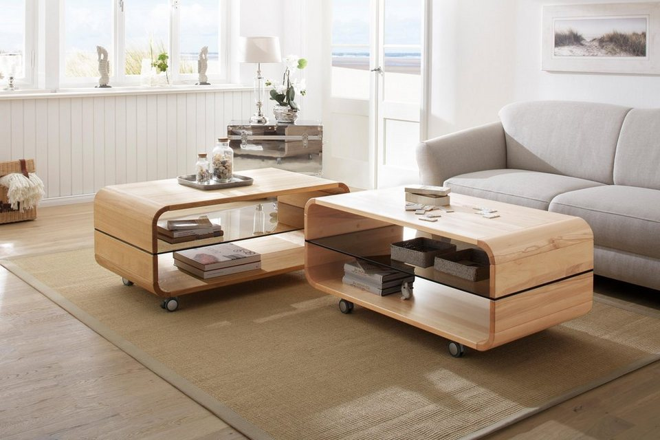 Premium collection by Home affaire Couchtisch »Emil« auf Rollen ...