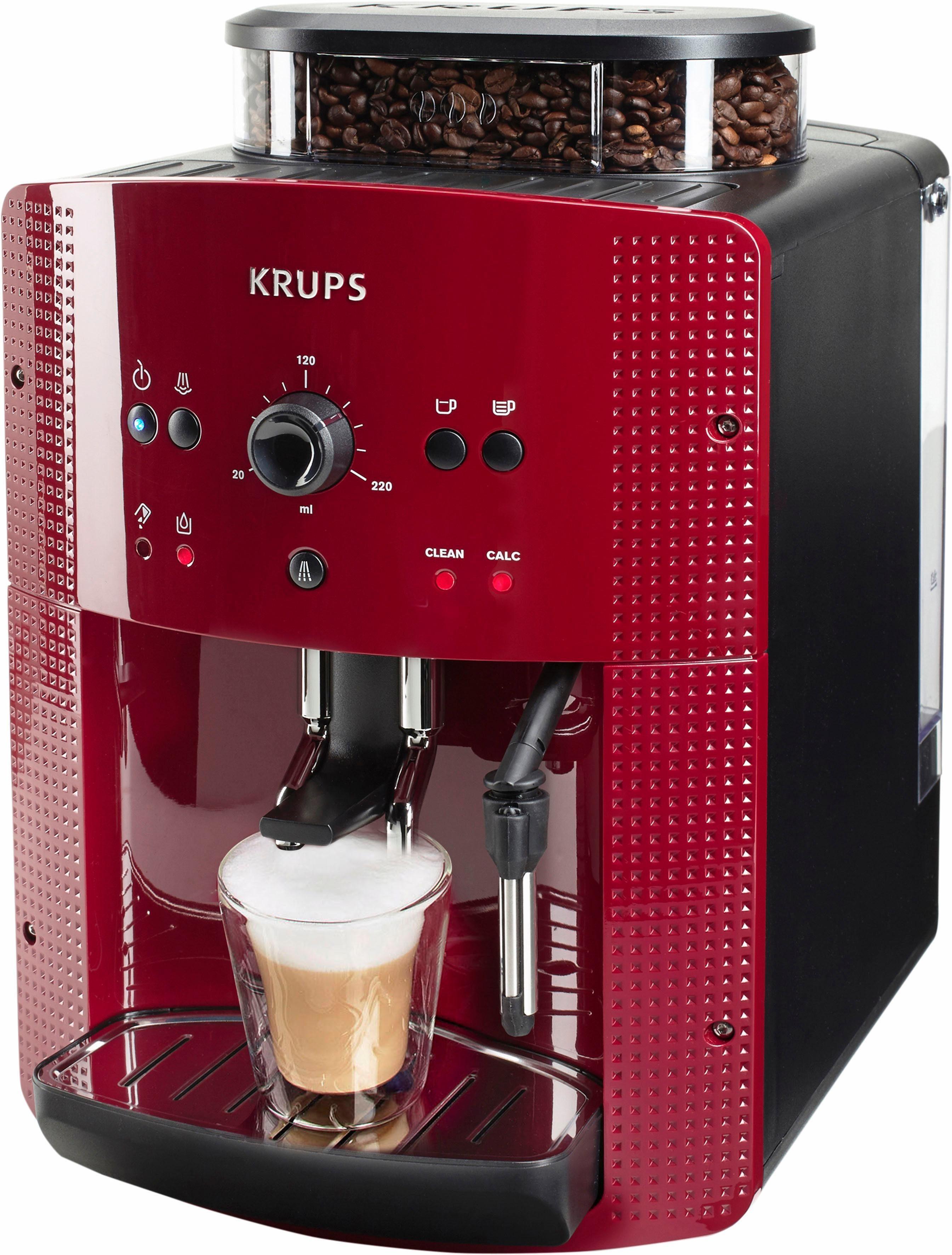 Krups Kaffeevollautomat EA8107, mit Kegelmahlwerk | OTTO