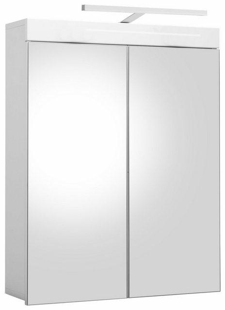 Spiegel - trendteam Spiegelschrank »Amanda« mit LED Beleuchtung und 2 Türen  - Onlineshop OTTO