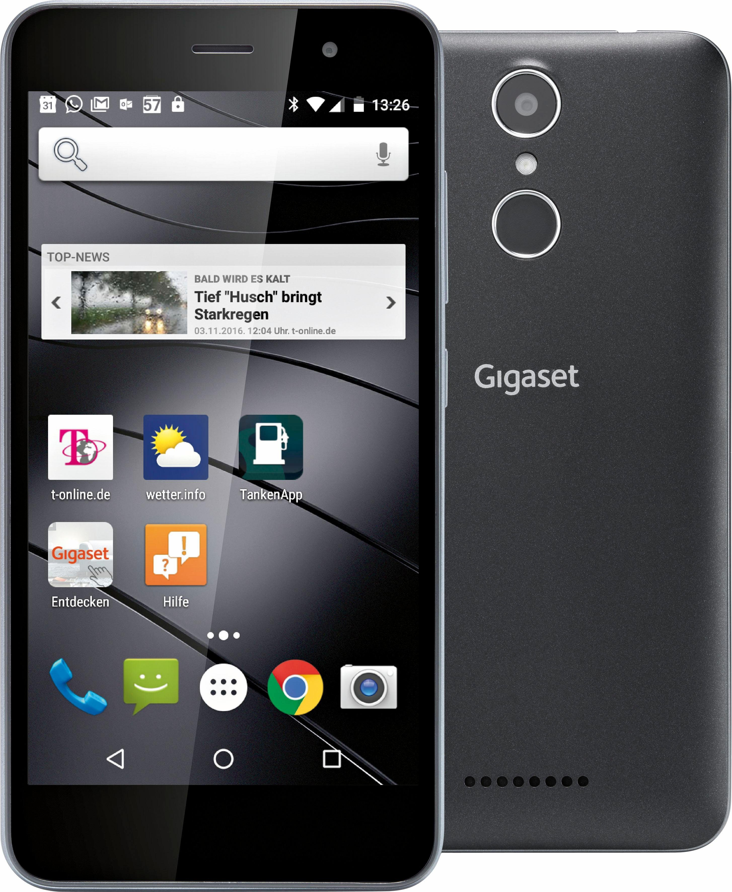 Gigaset GS160 Smartphone, 12,6 cm (5 Zoll) Display, LTE (4G), Android 6.0 (Marshmallow)
