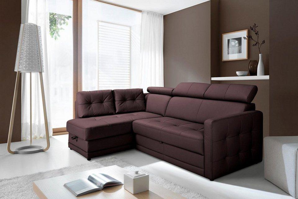 gala collezione polsterecke wahlweise mit bettfunktion. Black Bedroom Furniture Sets. Home Design Ideas