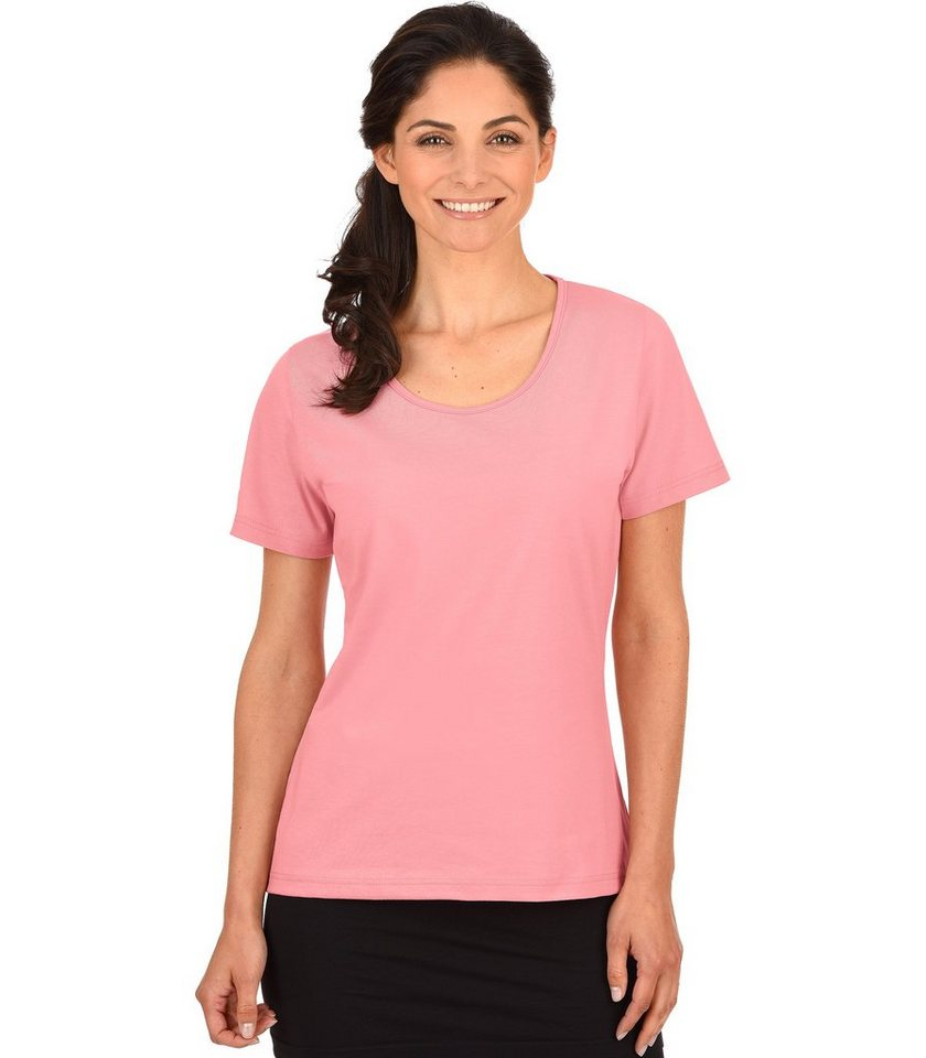 TRIGEMA T-Shirt 100% Biobaumwolle in puder-C2C