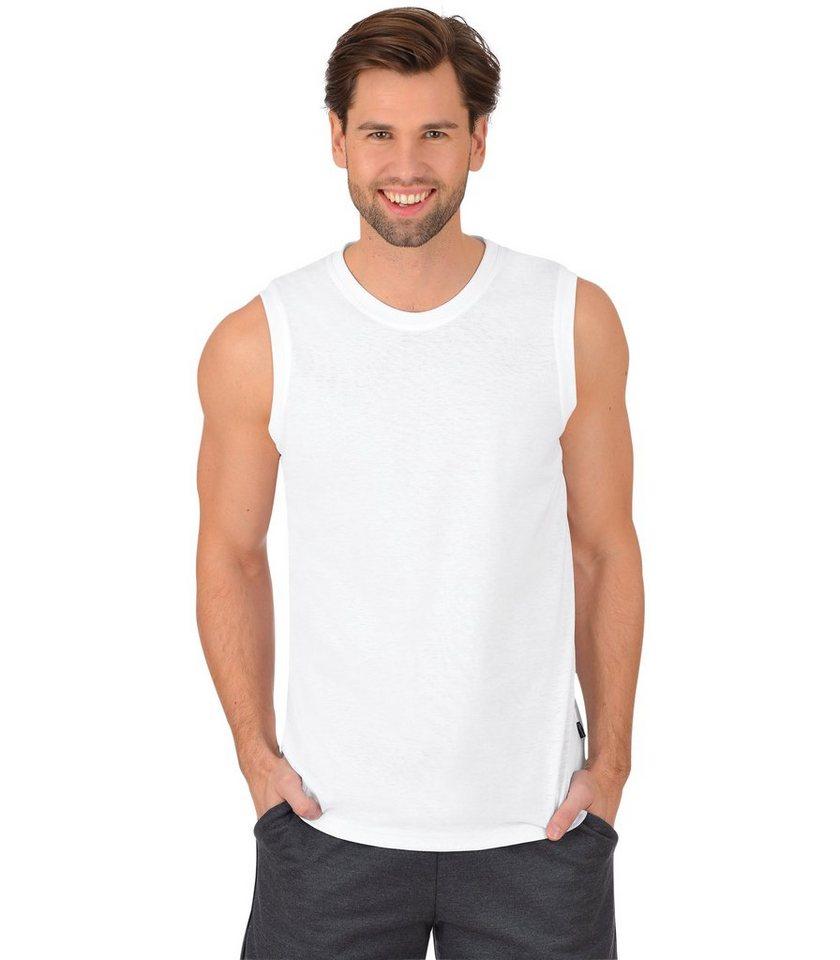 TRIGEMA Träger-Shirt 100% Baumwolle in weiss