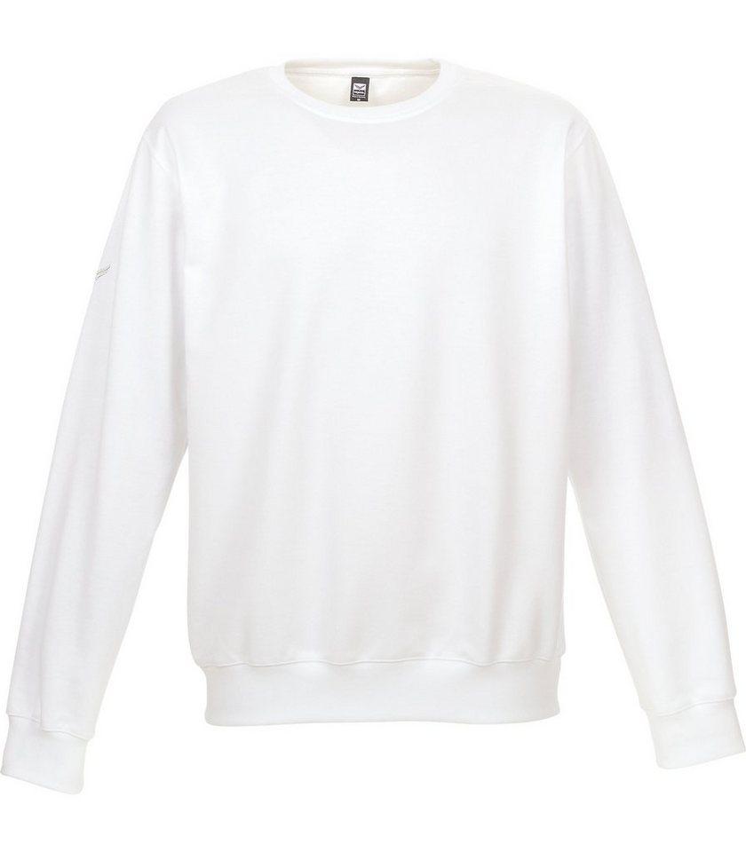 TRIGEMA Sweat-Shirt in weiss