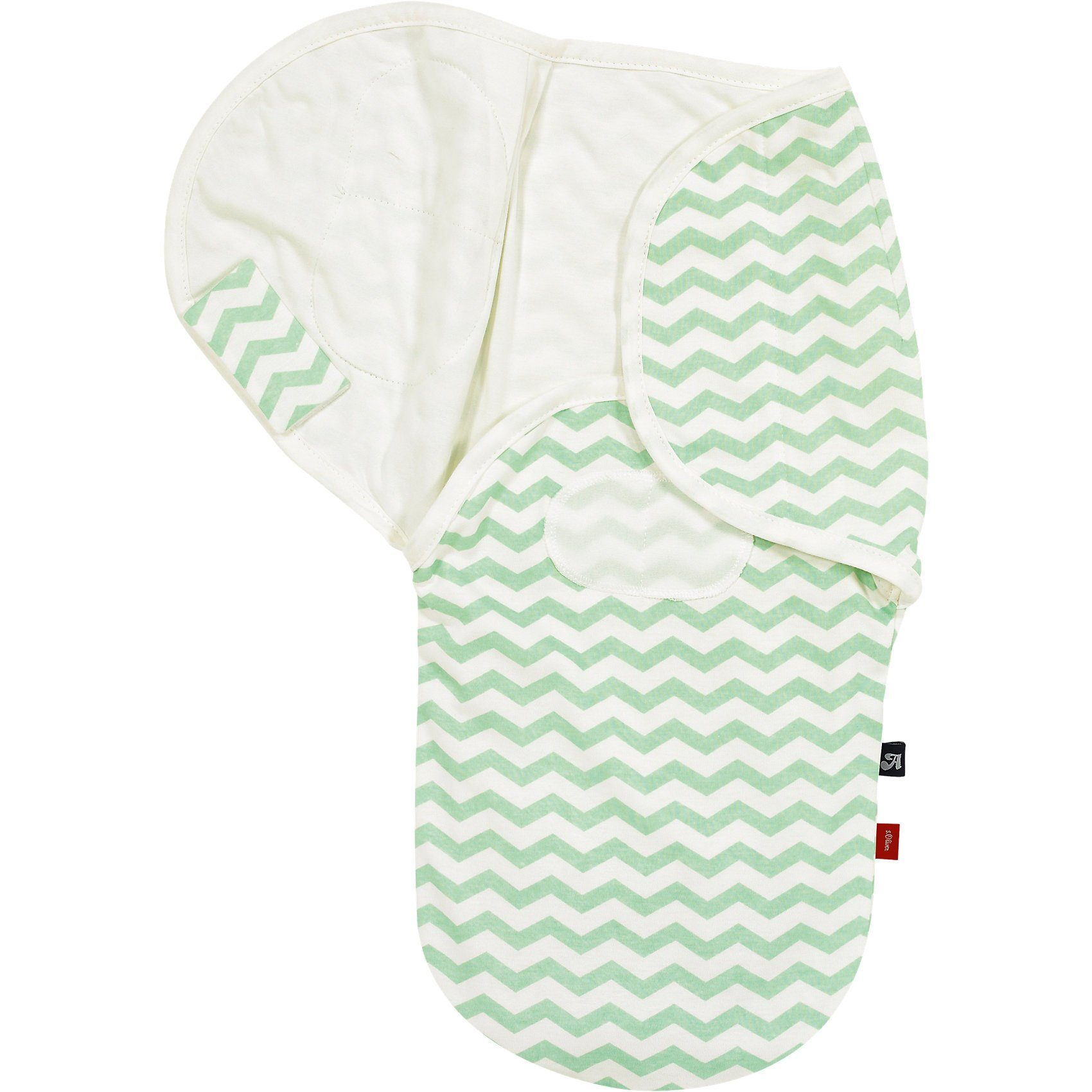 Alvi Wickeltuch s.Oliver Edition, Chevron mint
