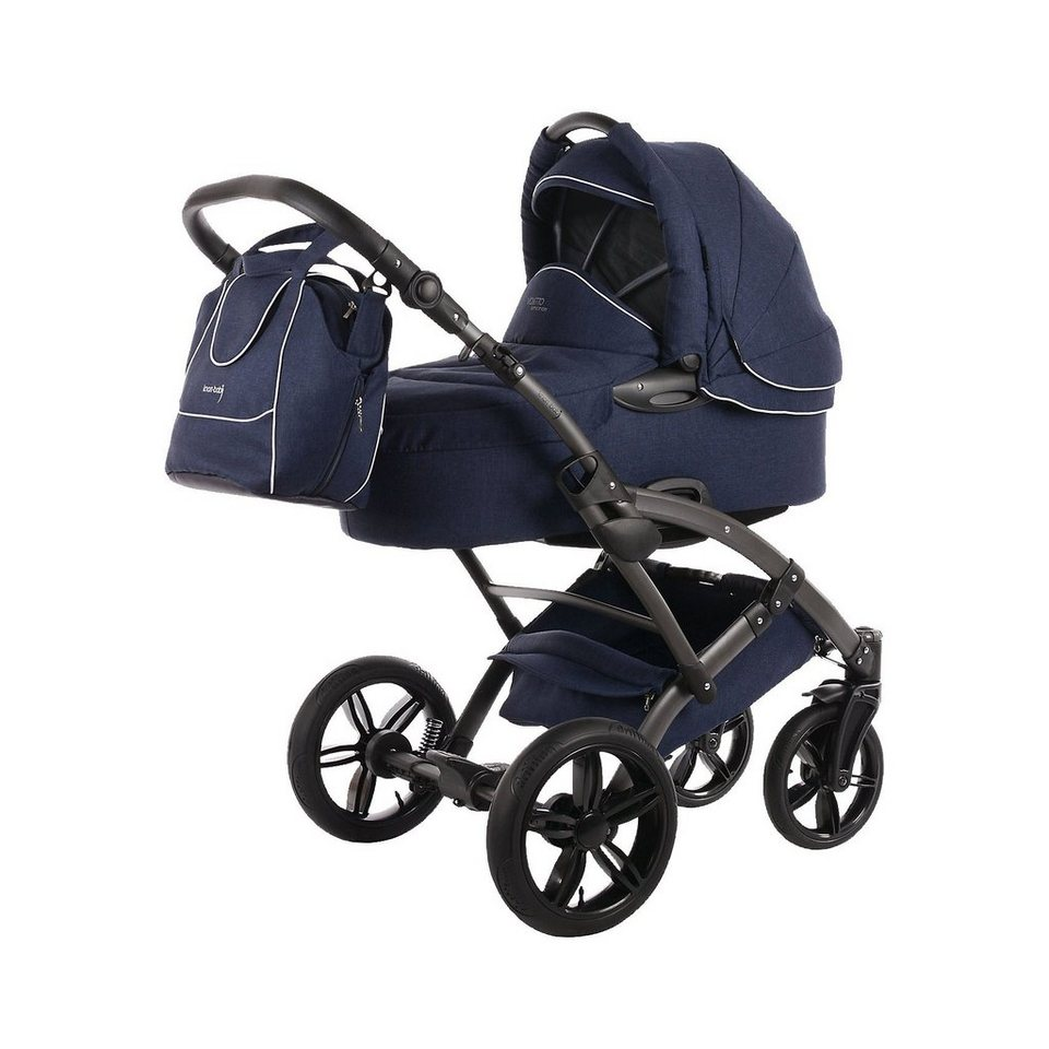 knorr baby kombi kinderwagen voletto emotion night blue online kaufen otto. Black Bedroom Furniture Sets. Home Design Ideas