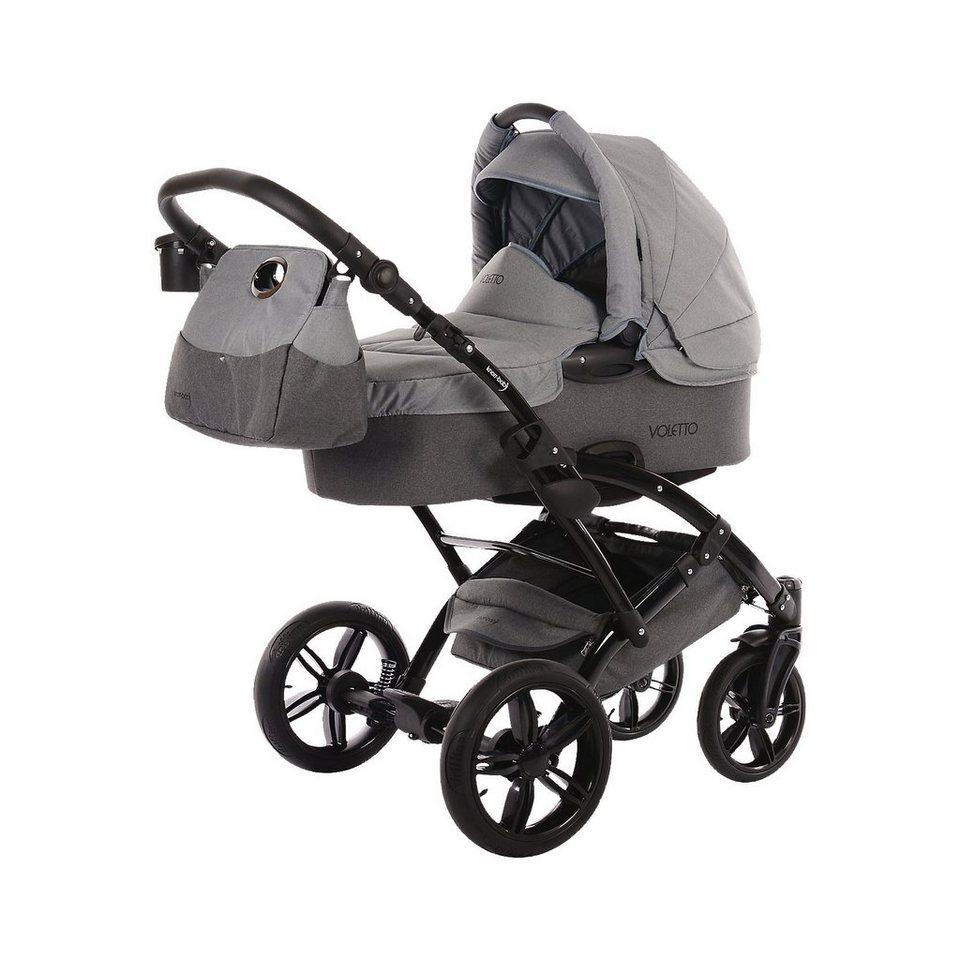 knorr baby kombi kinderwagen voletto happy colour dunkelgrau grau online kaufen otto. Black Bedroom Furniture Sets. Home Design Ideas