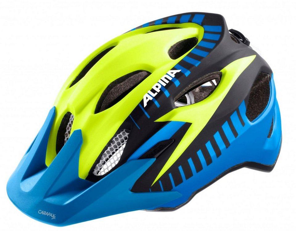 Alpina Fahrradhelm »Carapax Flash Helm Juniors« in bunt