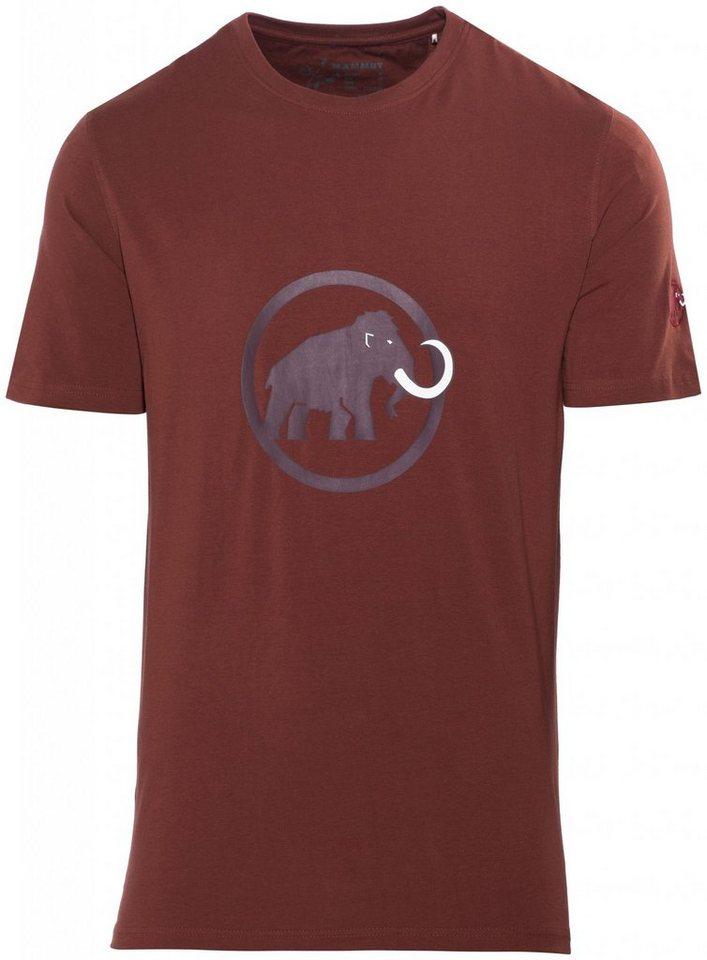 Mammut T-Shirt »Logo T-Shirt Men« in braun