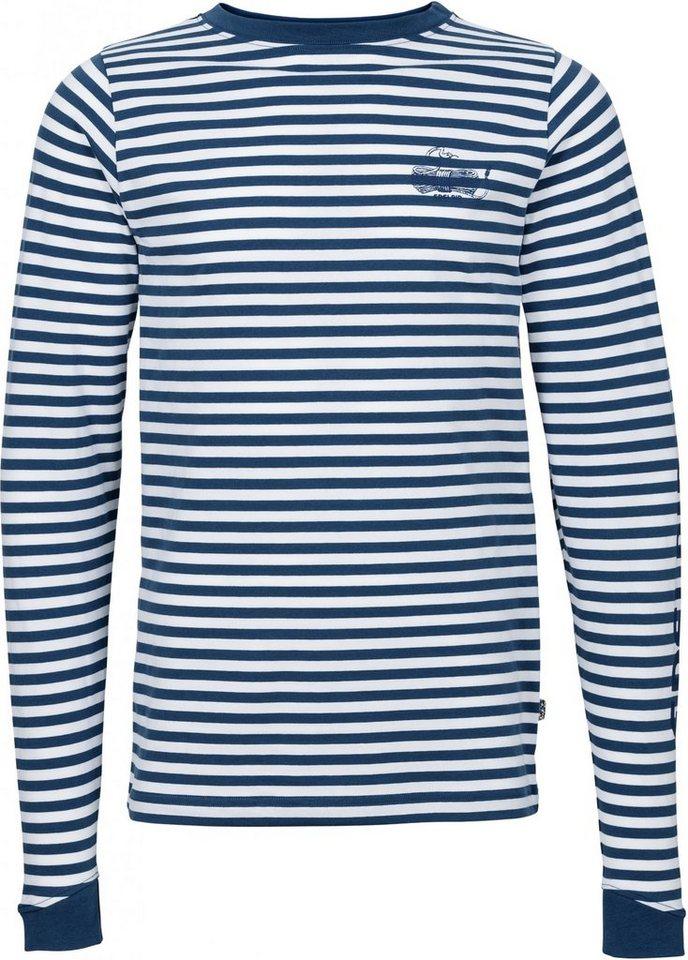 Edelrid Sweatshirt »Kamikaze II Longsleeve Men« in blau
