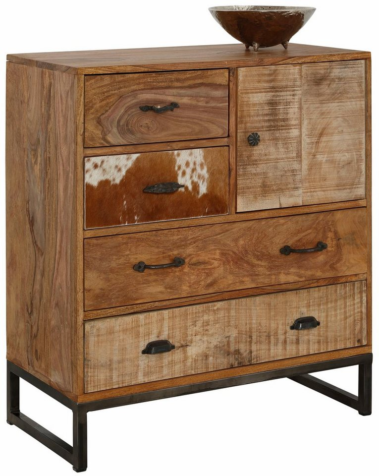 home affaire sideboard naresh breite 80 cm otto. Black Bedroom Furniture Sets. Home Design Ideas