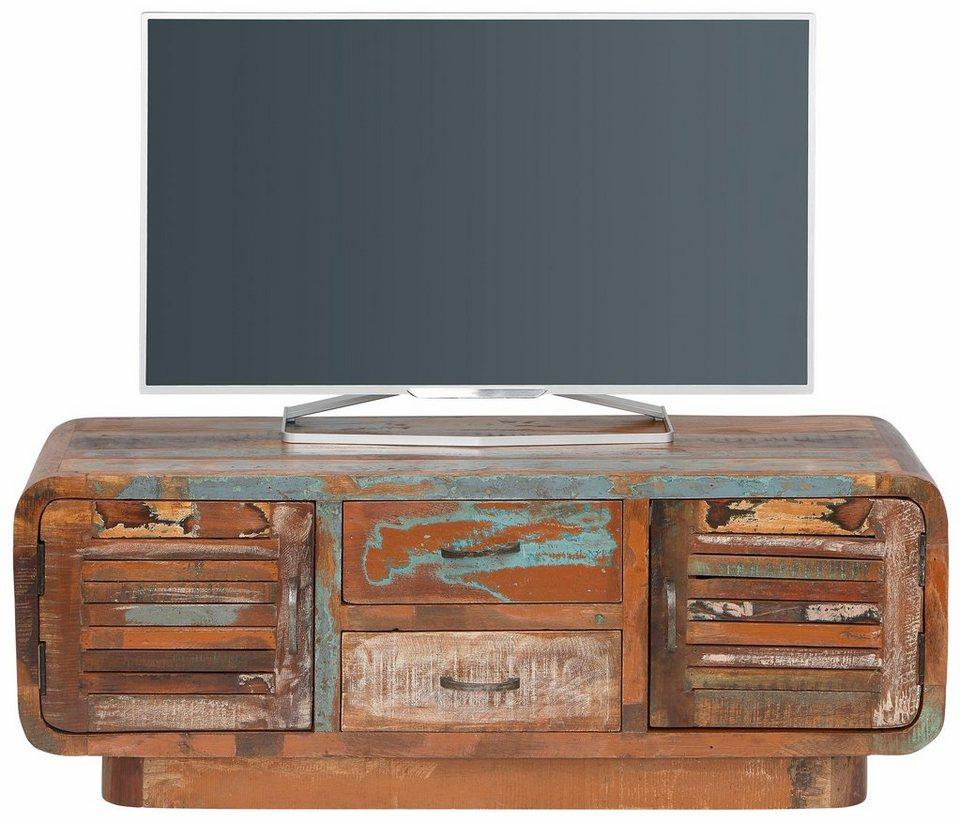 home affaire lowboard rajesh breite 120 cm otto. Black Bedroom Furniture Sets. Home Design Ideas
