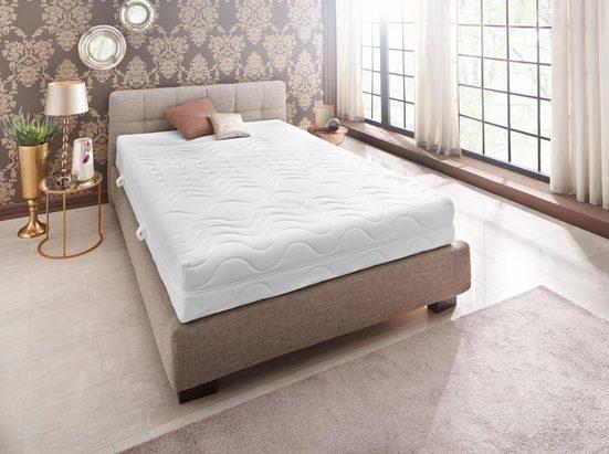 Komfortschaummatratze »Premium Cool Plus«, BeCo EXCLUSIV, 25 cm hoch, Raumgewicht: 28, Optimales Schlafklima durch Cool-Plus-Markenfaser