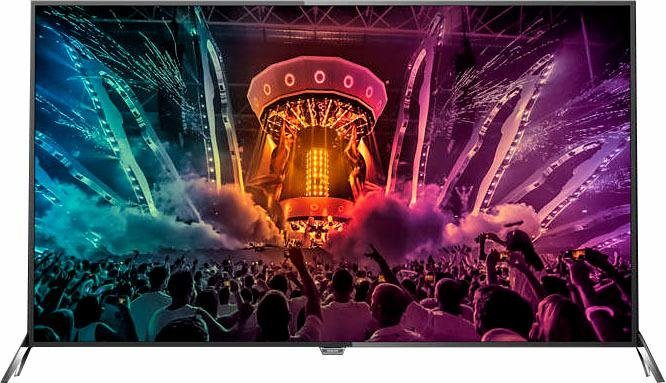 Philips 65PUS6121/12, LED Fernseher, 164 cm (65 Zoll), 2160p (4K Ultra HD), Smart-TV