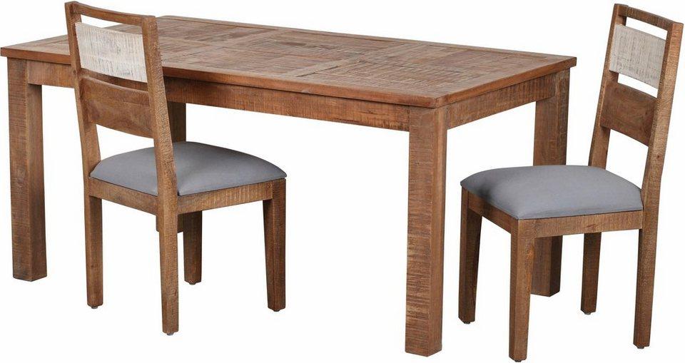 the wood times esstisch new rustic in zwei breiten online kaufen otto. Black Bedroom Furniture Sets. Home Design Ideas