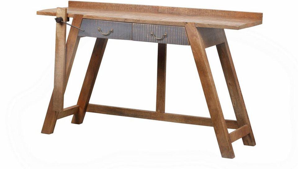 the wood times konsolentisch new rustic breite 148 cm online kaufen otto. Black Bedroom Furniture Sets. Home Design Ideas