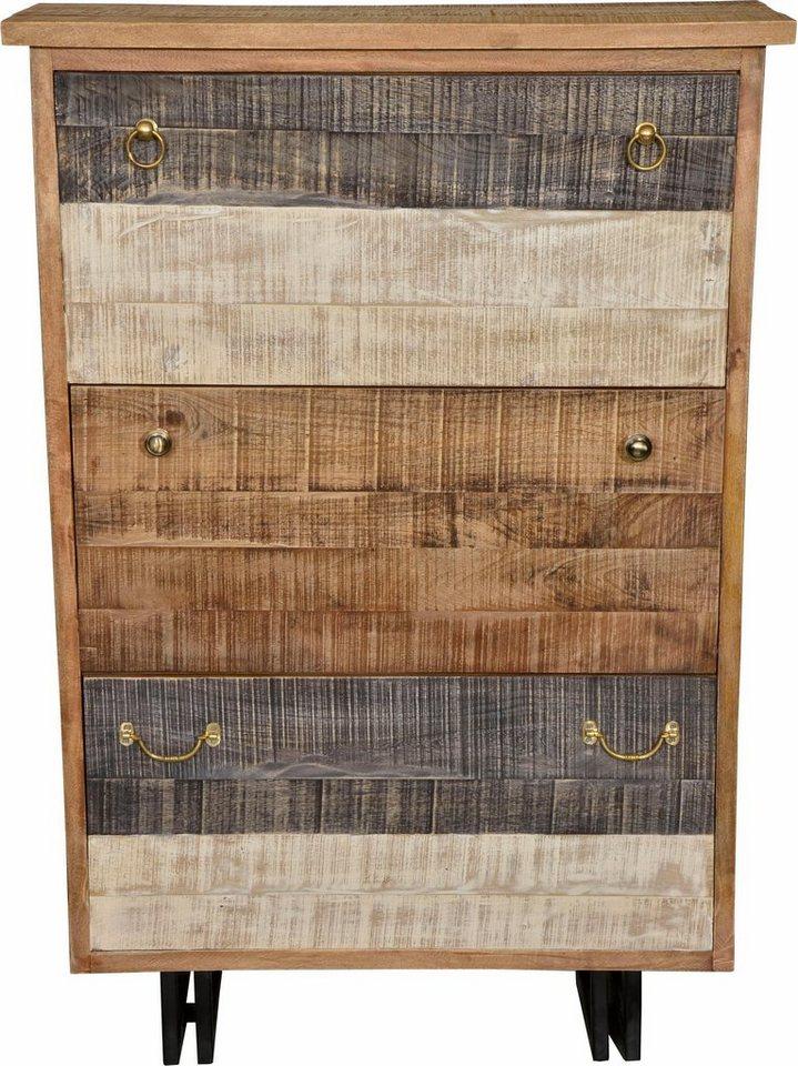 The Wood Times Schuhschrank «New Rustic», mit 3 Klappen online ...