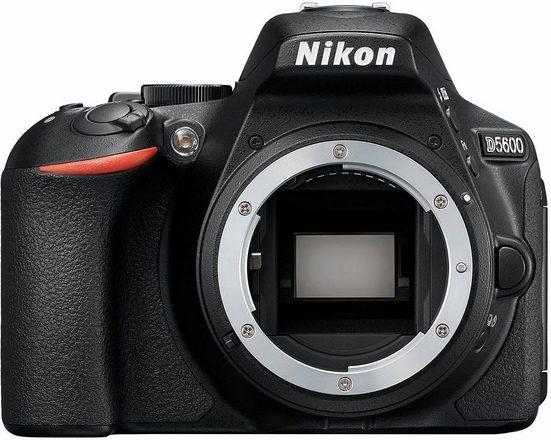 Nikon »D5600 Body« Spiegelreflexkamera (24,2 MP, Bluetooth, NFC, WLAN (Wi-Fi)