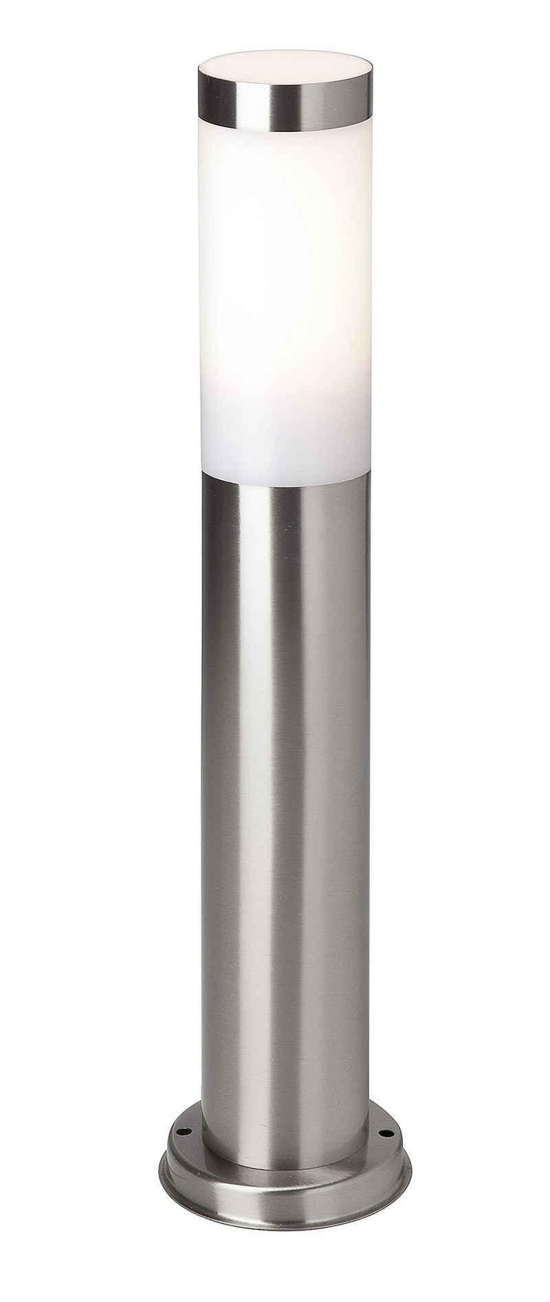Brilliant Leuchten Sockelleuchte »Chorus«, Außensockellampe 51cm edelstahl