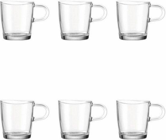 LEONARDO Becher »Loop« (6-tlg), für Tee und Kaffee