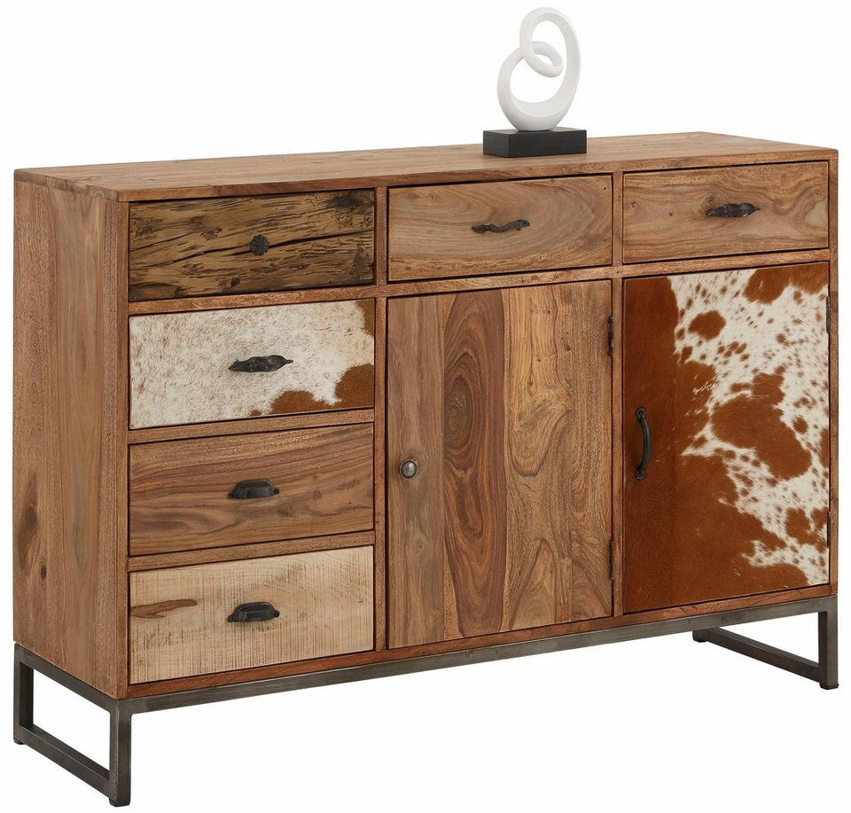 home affaire sideboard naresh breite 130 cm otto. Black Bedroom Furniture Sets. Home Design Ideas