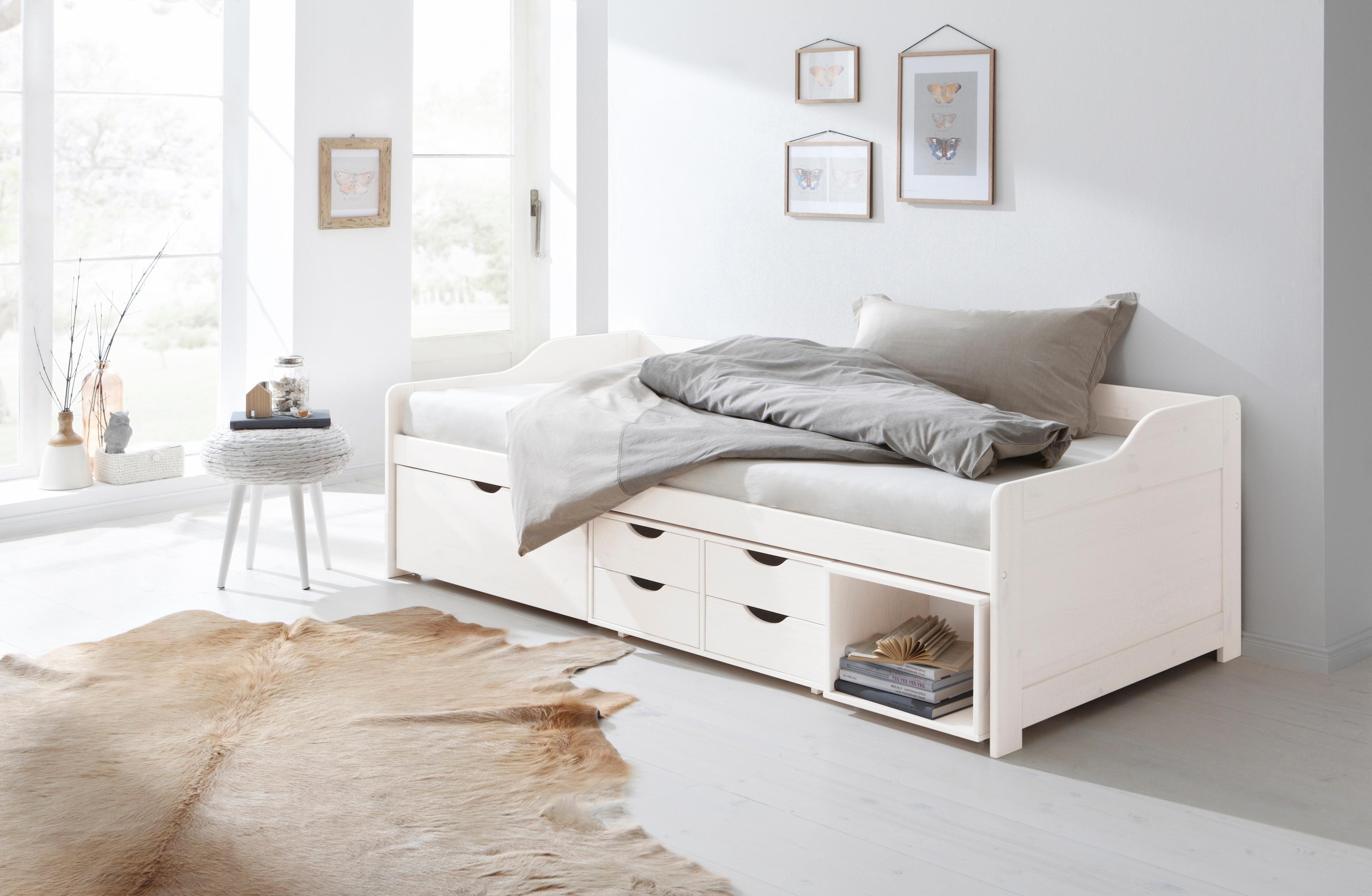betten mit stauraum preisvergleich die besten angebote. Black Bedroom Furniture Sets. Home Design Ideas