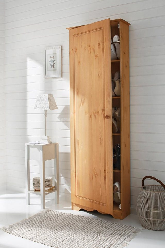 home affaire schuhschrank minik aus massiver kiefer online kaufen otto. Black Bedroom Furniture Sets. Home Design Ideas