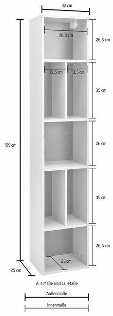 Küchenregale - TRENDMANUFAKTUR Hängeregal »Tolledo«, Höhe 159 cm  - Onlineshop OTTO