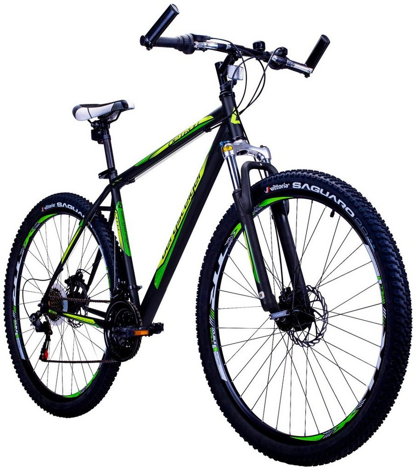 bergsteiger mountainbike detroit 29 zoll 21 gang scheibenbremsen online kaufen otto. Black Bedroom Furniture Sets. Home Design Ideas