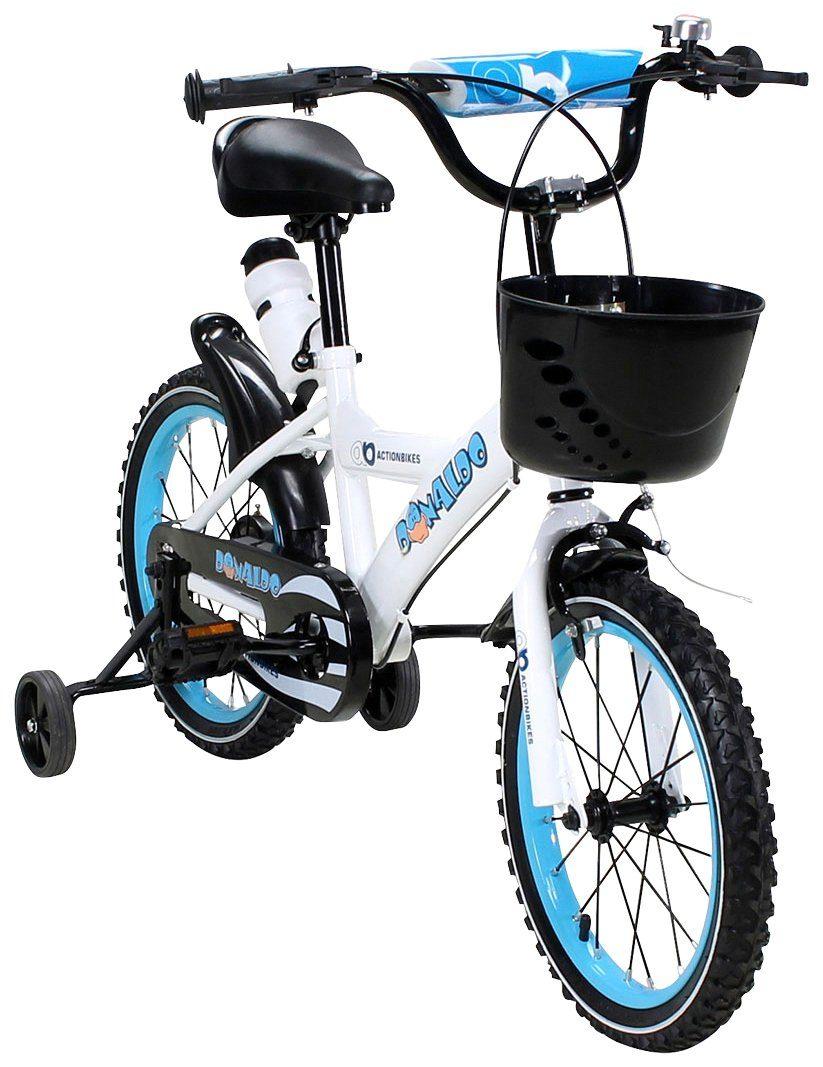 Actionbikes Motors Kinderfahrrad »Donaldo«, 16 Zoll, 1 Gang, Felgenbremse
