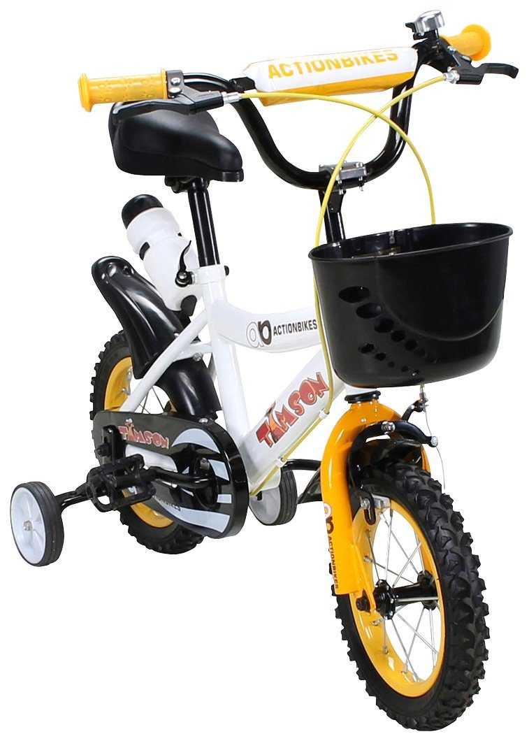 Actionbikes Motors Kinderfahrrad »Timson «, 12 Zoll, 1 Gang, Felgenbremse