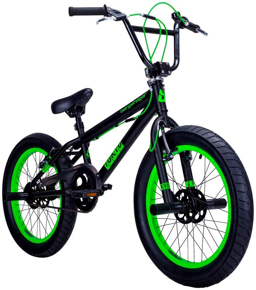 BMX »Tokyo«, 20 Zoll, 1 Gang, V-Bremsen in grün