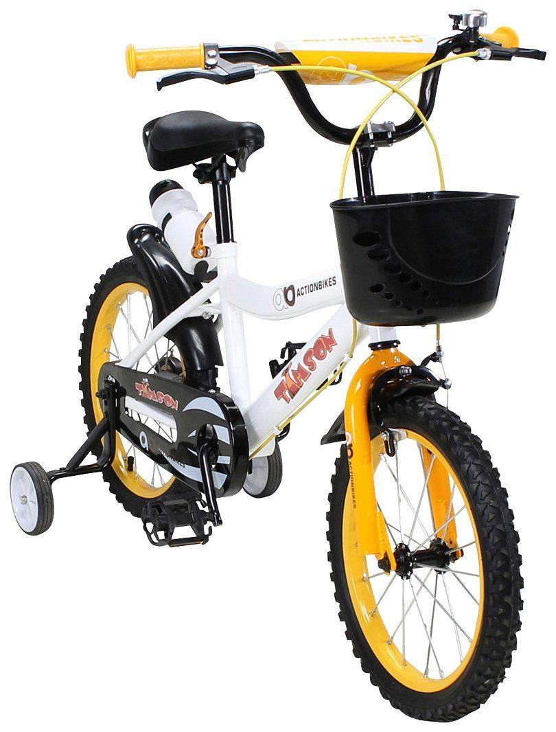 Actionbikes Motors Kinderfahrrad »Timson«, 16 Zoll, 1 Gang, Felgenbremse