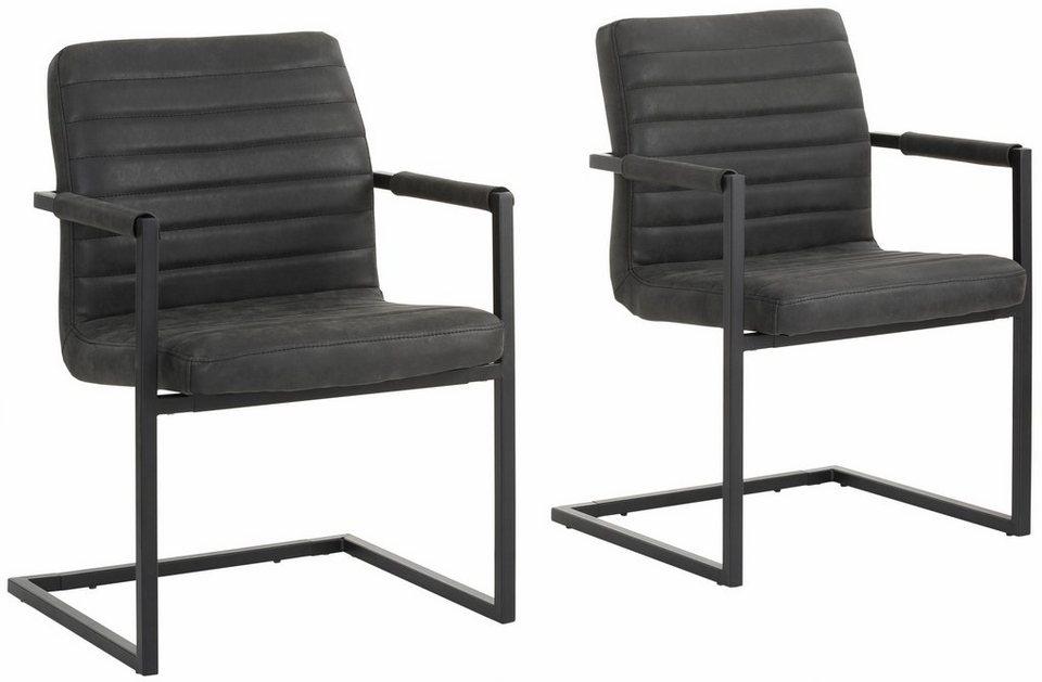 home affaire freischwinger stuhl parzio im 2 tlg set online kaufen otto. Black Bedroom Furniture Sets. Home Design Ideas