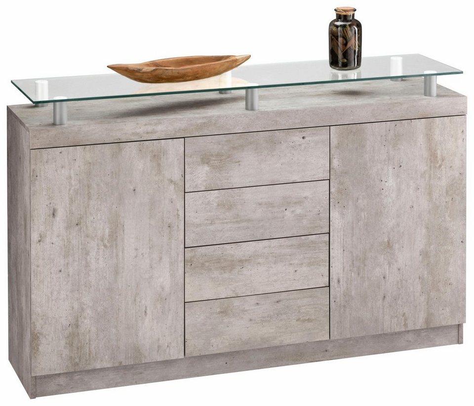 borchardt m bel sideboard ruka breite 139 cm otto. Black Bedroom Furniture Sets. Home Design Ideas
