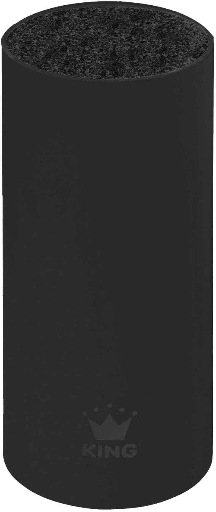 KING Messerblock »soft touch« (1tlg), mit rutschhemmender Oberfläche
