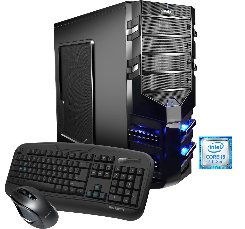 Hyrican Gaming PC Intel® i5-7400, 16GB, SSD+HDD Radeon® RX480 8GB »Alpha Gaming 5454«
