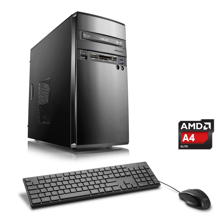 CSL Office PC | AMD A4-5300 | AMD Radeon HD 7480D | 8 GB RAM | WLAN »Sprint T2825 Windows 10 Home«