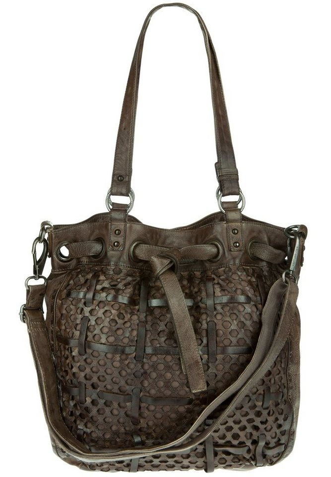 FREDsBRUDER Ledertasche »FUNATIC« in muddy taupe