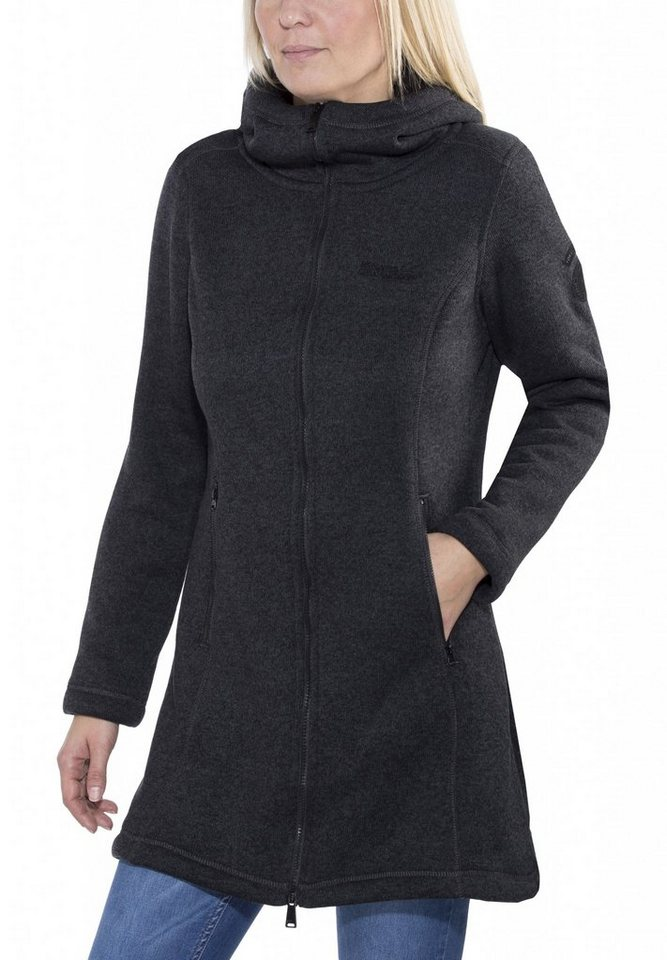 Regatta Outdoorjacke »Radella Fleece Coat Women« in schwarz
