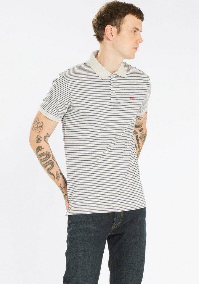 Levi's® Poloshirt »Housemark Polo« in light-grey