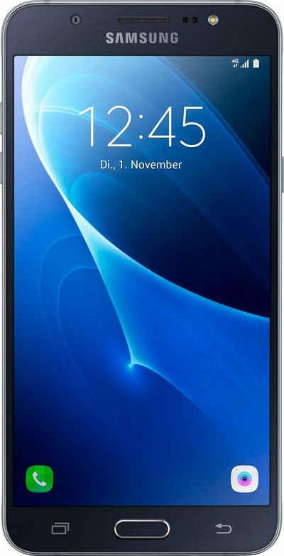 Samsung Galaxy J7 (2016) Smartphone, 13,97 cm (5,5 Zoll) Display, LTE (4G) Sale Angebote Werben
