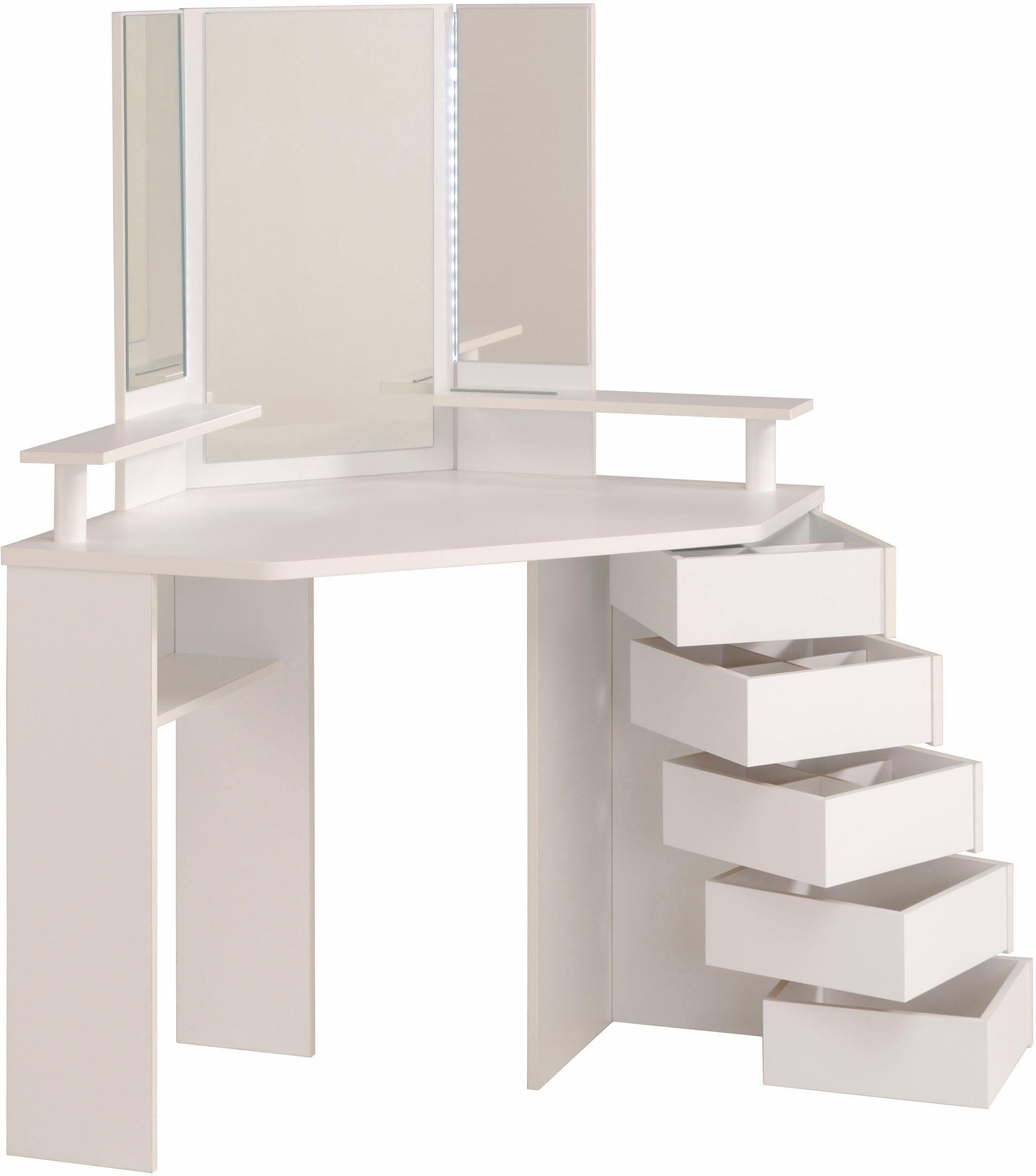 7 h bsche schminkkommoden viel platz f r sch nheit. Black Bedroom Furniture Sets. Home Design Ideas