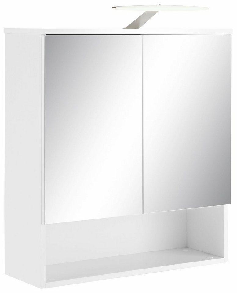 spiegelschrank zingst mit led beleuchtung kaufen otto. Black Bedroom Furniture Sets. Home Design Ideas