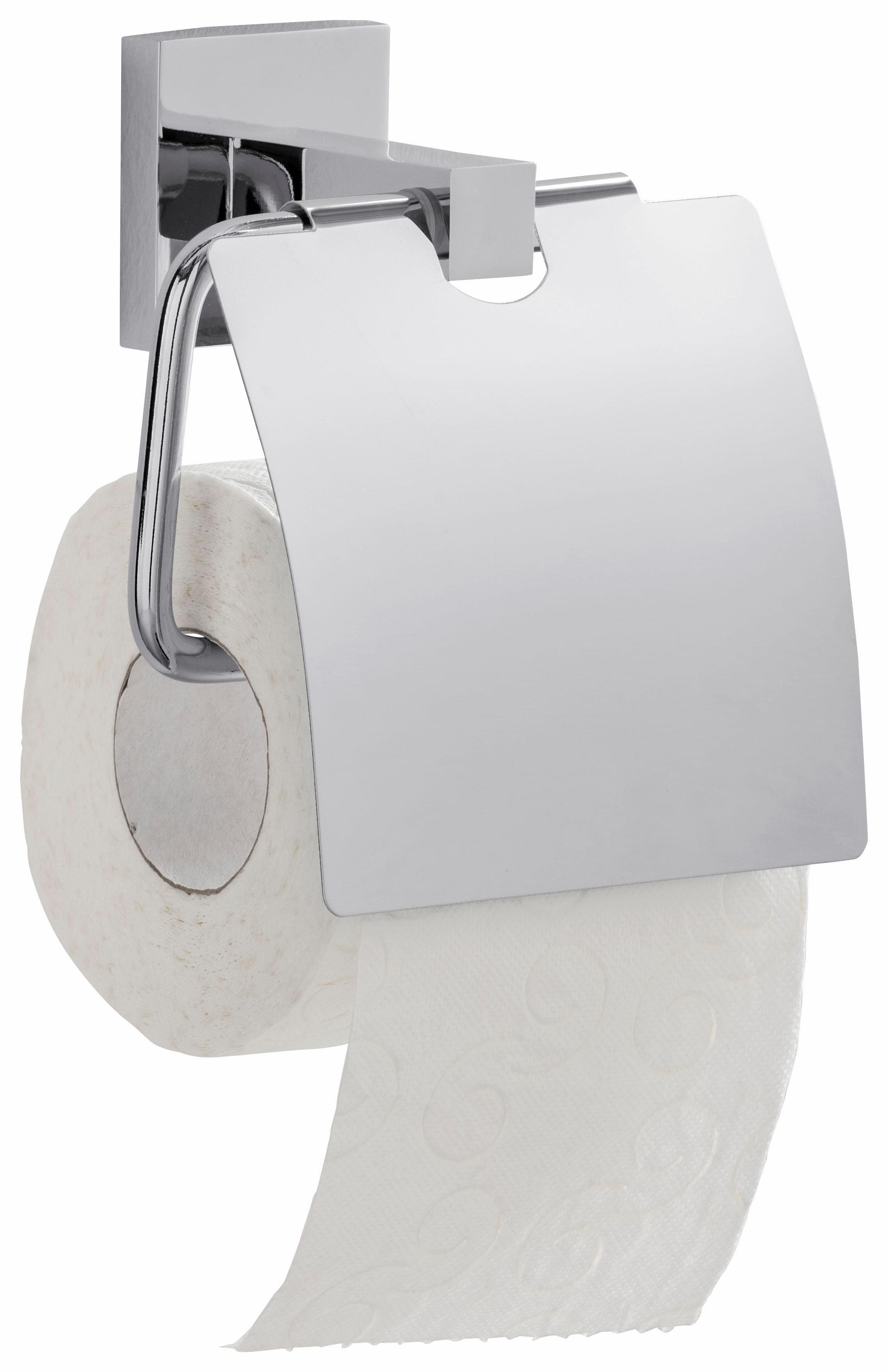 WENKO Power-Loc WC-Rollenhalter San Remo, Befestigen ohne bohren
